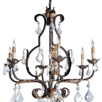 Currey Company Tuscan Chandelier, Large