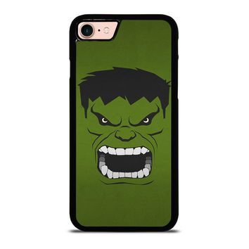HULK MARVEL COMICS MINIMALISTIC iPhone 8 Case