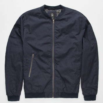Volcom Badger Mens Jacket Navy  In Sizes
