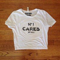 No One Cares At All Chanel Crop Top