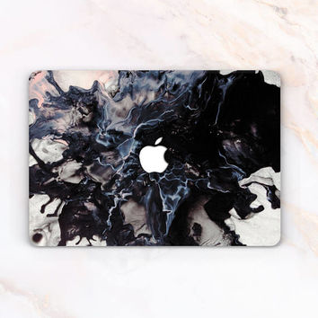 Dark Marble Case Ink Macbook Case Macbook 12 Marble Macbook Pro 13 2016 Case Macbook Air 11 Marble Marble Air 13 Case Pro 15 Laptop Case