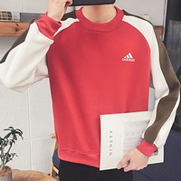 New Balance Cotton Fashion Multicolor Winter Top Sweater Pullover Sweatshirt