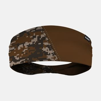 Arsenal Digi Camo Dark Brown Headband