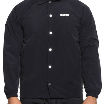 The Ops Vented Coaches Jacket in Black