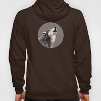 Grey wolf Hoody by Savousepate