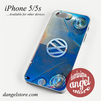 volkswagen emblem Phone case for iPhone 4/4s/5/5c/5s/6/6 plus