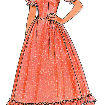 costume accessory: sewing pattern pioneer woman - 1 piece Case of 2