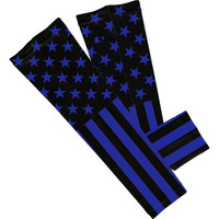 Tactical USA Blue Arm Sleeve  (No Refunds - No Exchanges)
