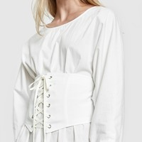 Which We Want / Genevieve Corset in White