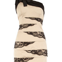 Beige lace detail tunic - Brands at DP - View All Sale  - Sale & Offers