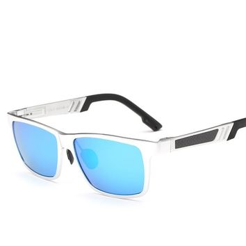Brand Designer sunglasses polarized lens fishing NEW Classic metal frame Men's sun glasses Driving Outdoor Eyeglasses
