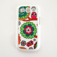 Accessory Case for Samsung Galaxy S3 Silly Birds Hard White Case