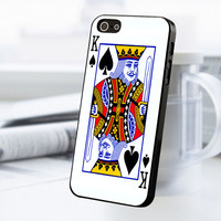 Card King iPhone 5 Or 5S Case