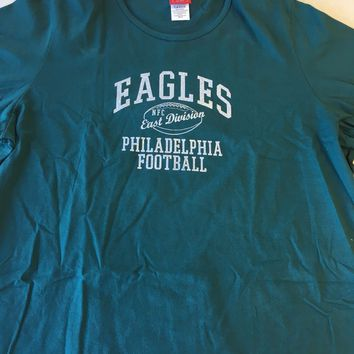 PHILADELPHIA EAGLES WOMEN'S GREEN T-SHIRT SHIPPING