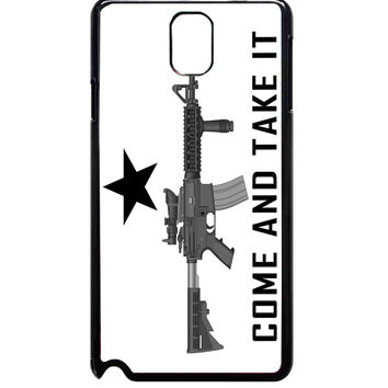 Come and Take It Flag For Samsung Galaxy Note 3 Case ***