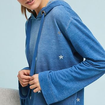 Cloth & Stone Metallic Star Hoodie