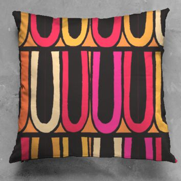 Circus Trim Orange Pillow