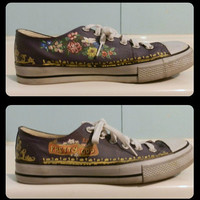 Men's Panic at the Disco Shoes by RisingRedFox on Etsy