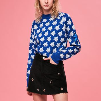 Reach For The Stars Top In Blue