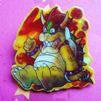 Bowser Brooch