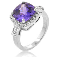Midnight Amethyst Ring, size : 06