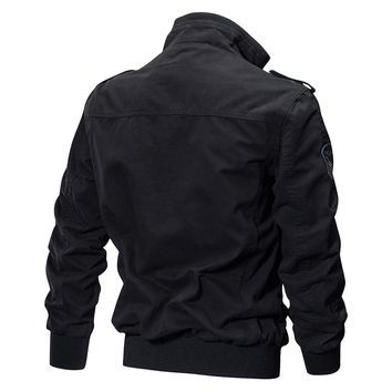 Men's Military Pilot Bomber Jackets