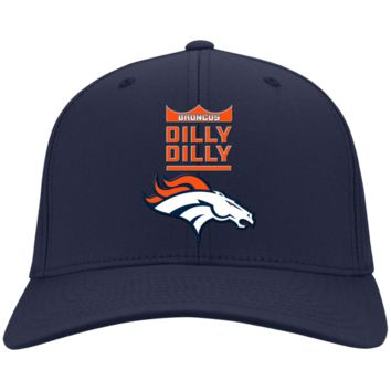 Denver Broncos : Dilly Dilly : CP80 Port & Co. Twill Cap