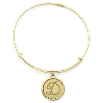 Alex and Ani Precious Initial D Charm Bangle - 14kt Gold Filled