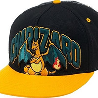 BIOWORLD Pokemon Charizard Snapback Cap