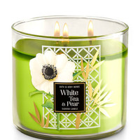 WHITE TEA & PEAR3-Wick Candle