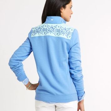 Medallion Embroidered Shep Shirt