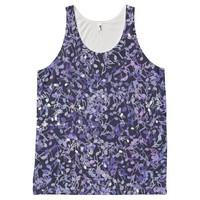 Blue Note Blues Music Notes Tank Top