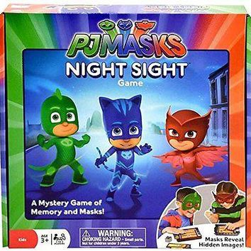 "PJ Masks Night Memory ""Night Sight"" Game"