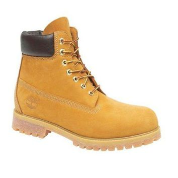 Timberland 10061 Leather Lace-Up Boot / Mens Boots / Boots
