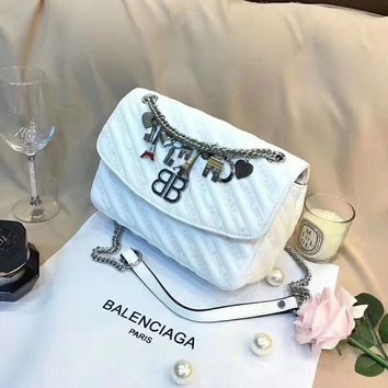 Balenciaga BB Round M Crossbody Bag Shoulder Bag