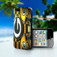 Bay Packers Helmet Logo - Photo On Hard Cover For iPhone 5