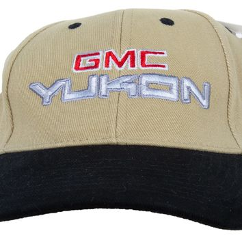 GMC Yukon Hat Two Tone Embroidered Cap