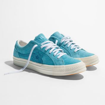 CONVERSE GOLF LE FLEUR OX BACHELOR BUTTON - Carolina Blue