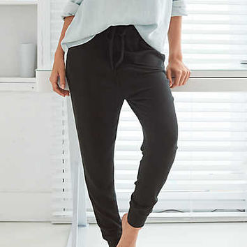 Aerie Real Soft® Harem Pant , True Black