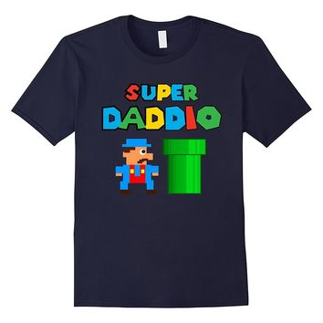 Super Daddio T-Shirt Best Father's Day Gift Men Video Game