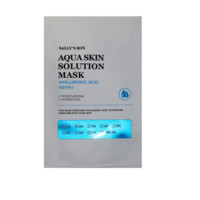 [SALLY'S BOX] Aqua Skin Solution Mask / Hyaluronic Acid