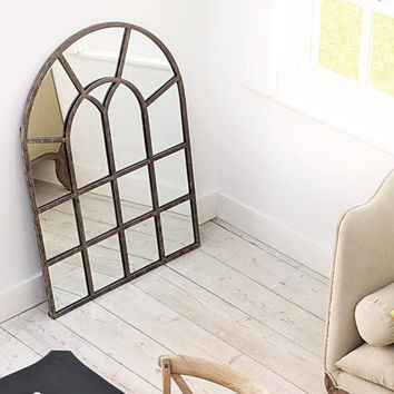 Arched Window Mirror, Wall Mirrors | Graham and Green Mirrors