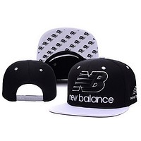 Perfect New Balance Women Men Embroidery Sports Sun Hat Baseball Cap Hat
