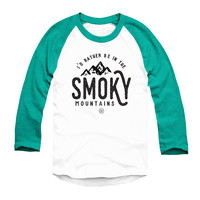 The Smoky Mountain Raglan