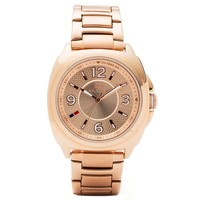 Tommy Hilfiger 1781341 Women's Zoey Rose Gold Dial Rose Gold Steel Bracelet Watch
