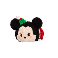 Minnie Mouse ''Tsum Tsum'' Plush - Holiday - Mini - 3 1/2''