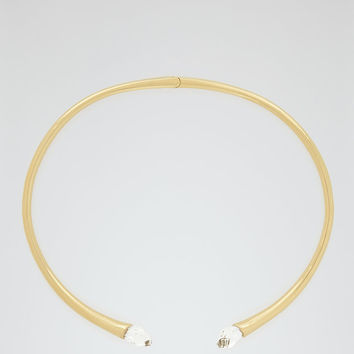 Cleo Gold/crystal Choker With Crystals From Swarovski - REISS