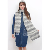 Cable Knit Beanie Hat + Scarf Set