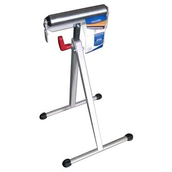 HDX 43 in. Steel Roller Stand with Edge Guide-AC43 - The Home Depot
