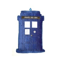 Doctor Who: TARDIS Light-and- Sound-Effects Pillow | Doctor Who Shop